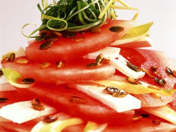 Savoury Melon Salad