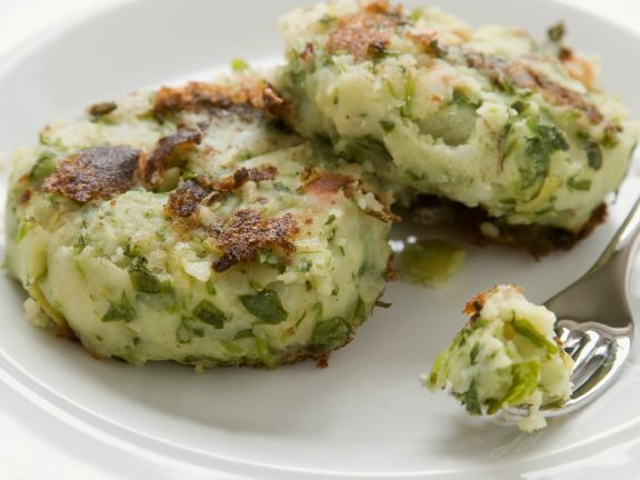 Savoy Cabbage and Potato Patties
