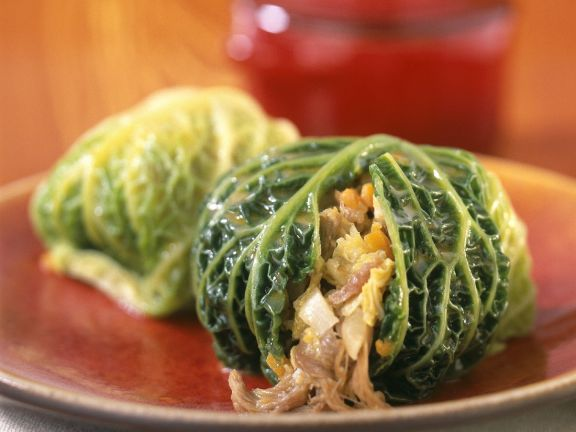 Savoy Cabbage Parcels Recipe Eat Smarter Usa
