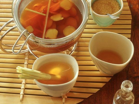Ginger Tea with Lemongrass