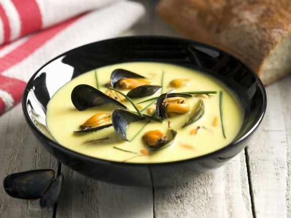 Seafood and Herb Bisque