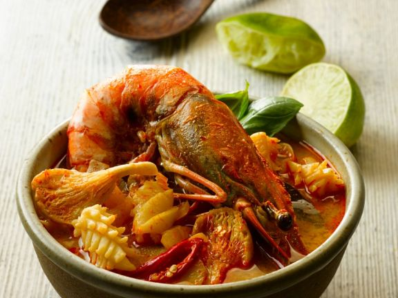 South-east Asian Seafood Broth