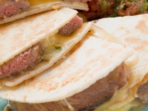Seared Steak Quesadillas