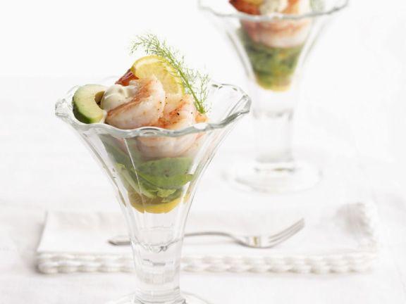 Shrimp and Avocado Appetiser