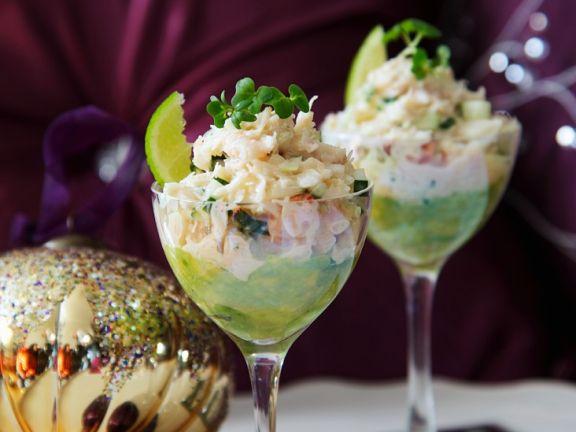 Shrimp and Avocado Appetisers