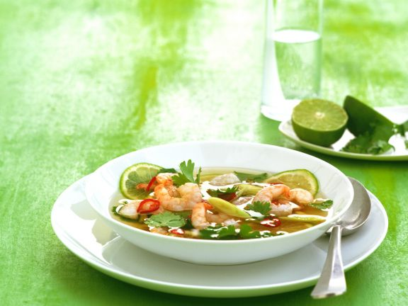 Shrimp and Lime Soup