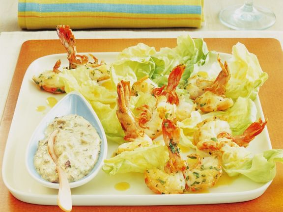 Shrimp Salad with Anchovy Remoulade
