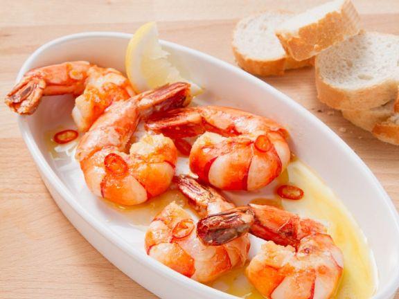 Shrimp with Garlic and Lemon