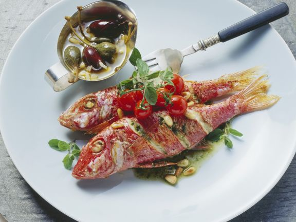 Sicilian-Style Red Mullet with Capers