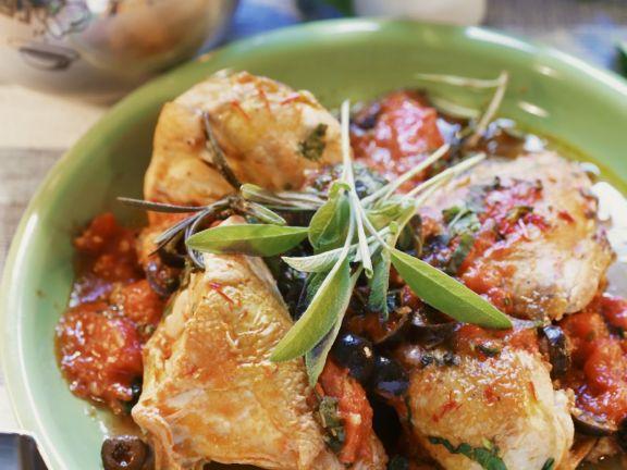 Simple Herbed Chicken