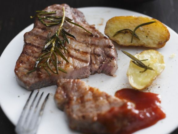 Sirloin with Rosemary