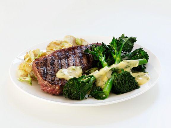 Sirloin with Tenderstem Broccoli