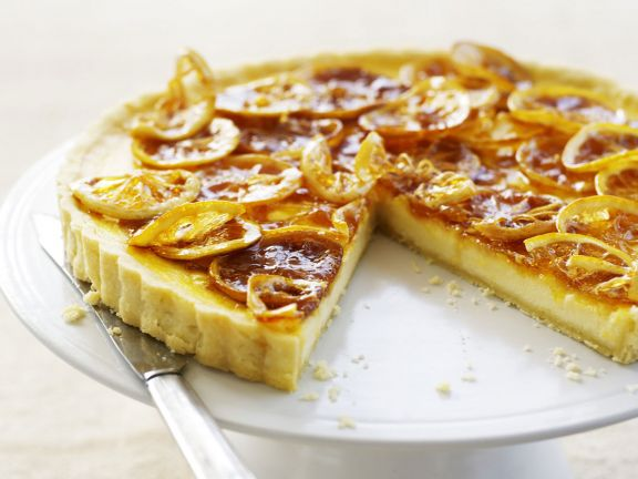 Sliced Orange Shortcrust Torte