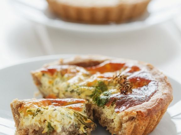 Small Quiches with Herbs