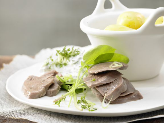 Smarter Boiled Veal Tongue