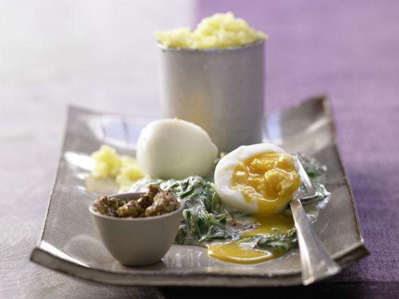 Smarter Mustard Eggs