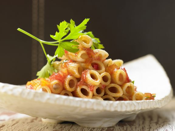 Smarter Pasta with Arrabbiata Sauce