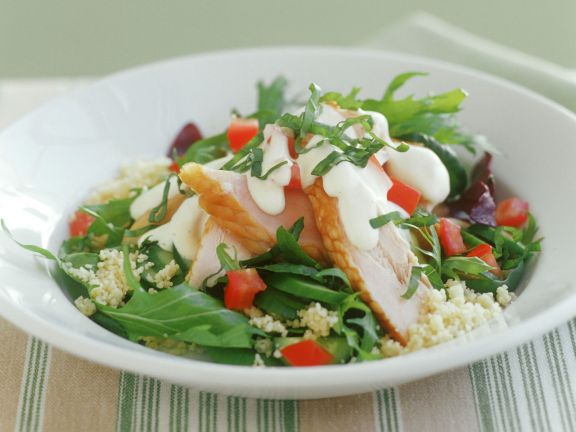 Smoked Chicken and Couscous Salad