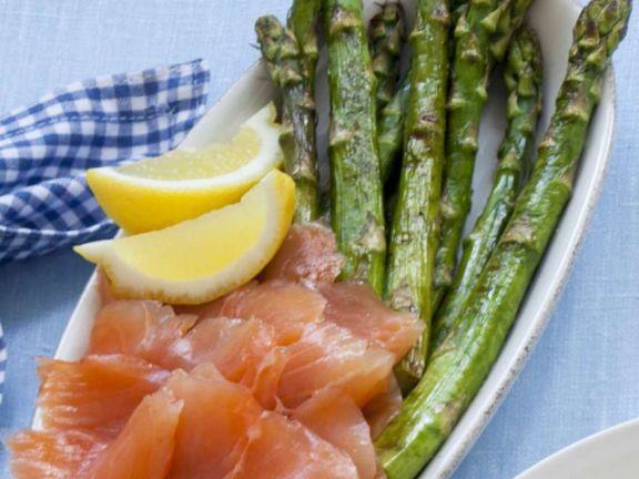Smoked Salmon and Asparagus