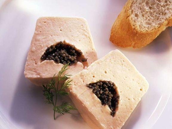 Smoked Salmon Mousse with Caviar