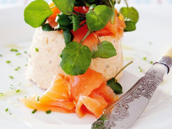 Smoked Salmon Mousse with Watercress