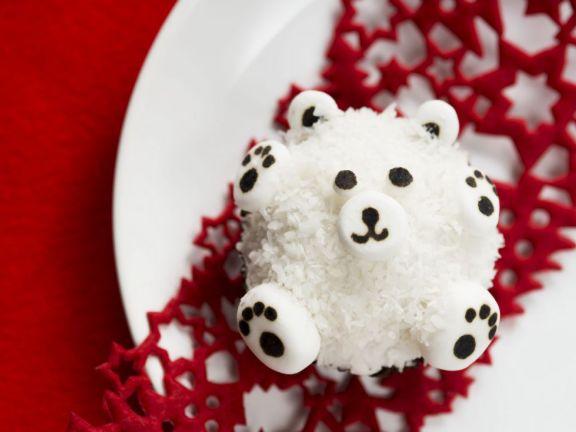 Snowy Bear Cakes