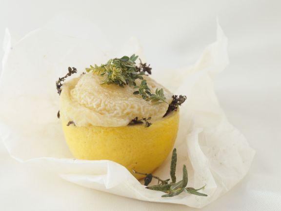 Soft Cheese-stuffed Lemons
