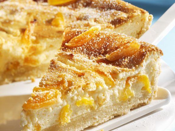 Soft Fruit Cream Cheese Cake
