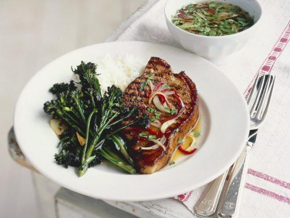South-east Asian Pork Dinner