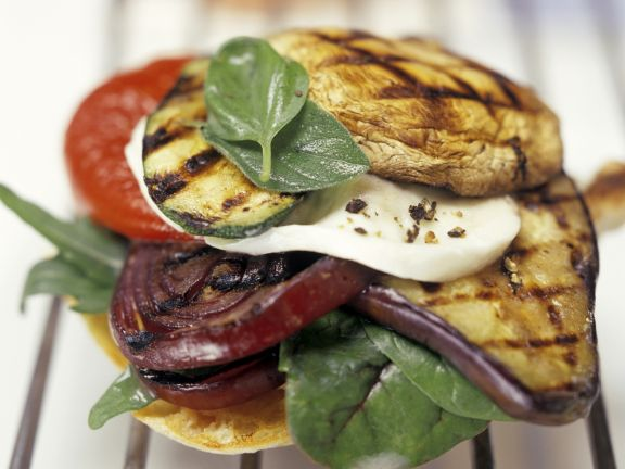 South Italian Grilled Toasts