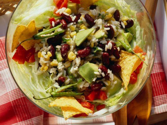 Southwestern-style Rice Salad