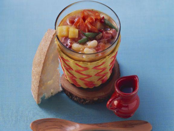 Spanish Mixed Bean Broth
