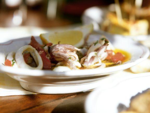 Spanish Style Octopus Salad