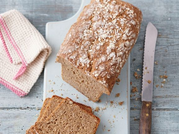 Spelt Bread with Popped Amaranth