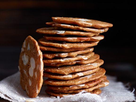 Stack of Nut Cookies