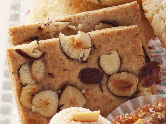 Spiced Hazelnut Cookies