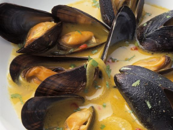 Spiced Mussels