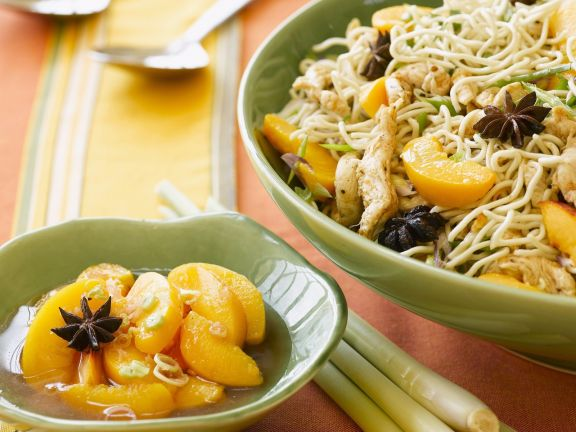Aromatic Fruit with Noodles