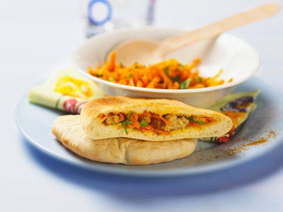 Spiced Vegetable Pittas