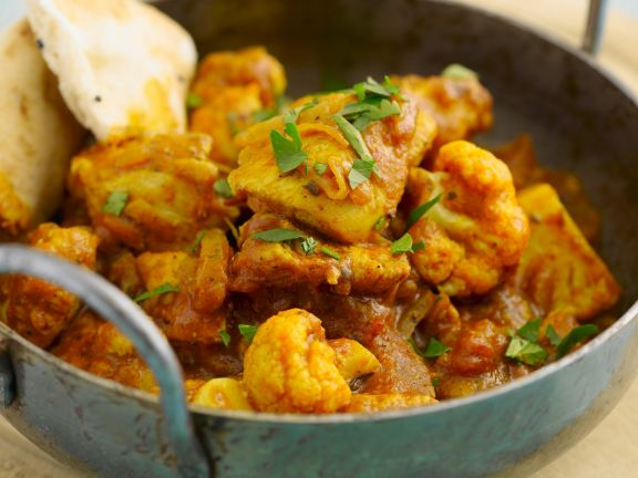 Spicy Balti Dish