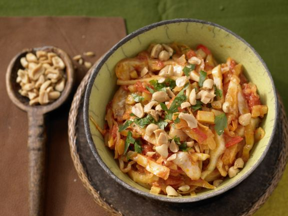 Spicy Cabbage Curry