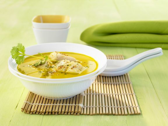 Spicy Fish Soup with Coconut