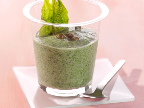 Spinach and Garlic Smoothie
