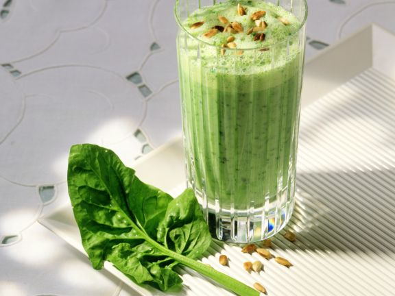 Spinach and Yogurt Drink