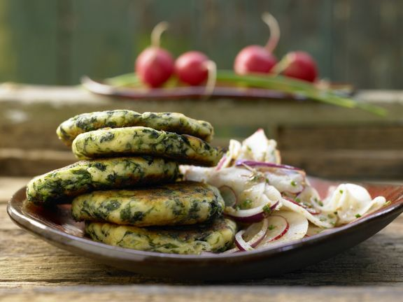 Spinach-Cheese Fritters