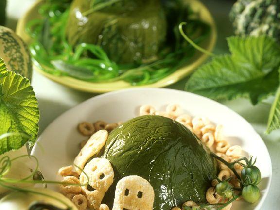 Spinach Gelatin
