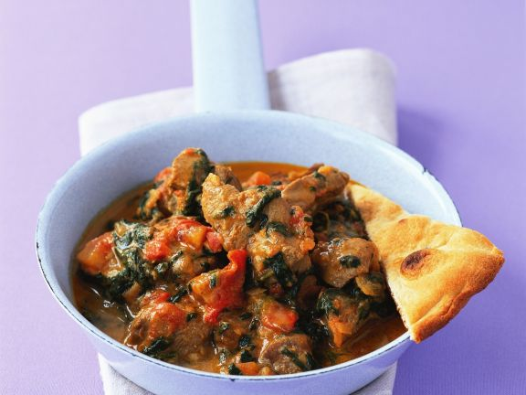 Spinach Lamb Curry