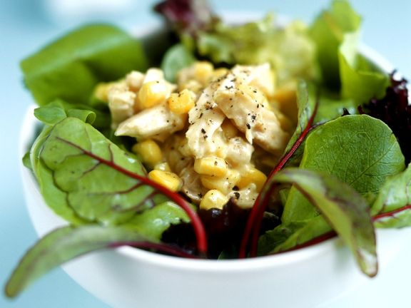 Spinach Salad with Goat's Cheese