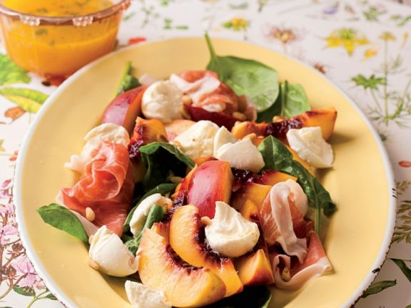 Spinach Salad with Prosciutto