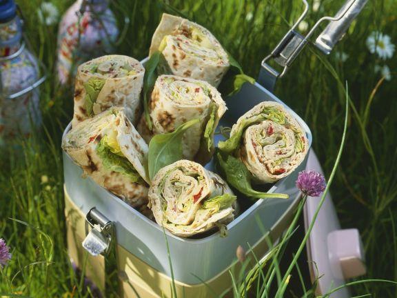 Spinach Tortilla Wraps